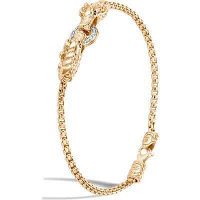 John Hardy Legends Naga Diamond Pave Bracelet