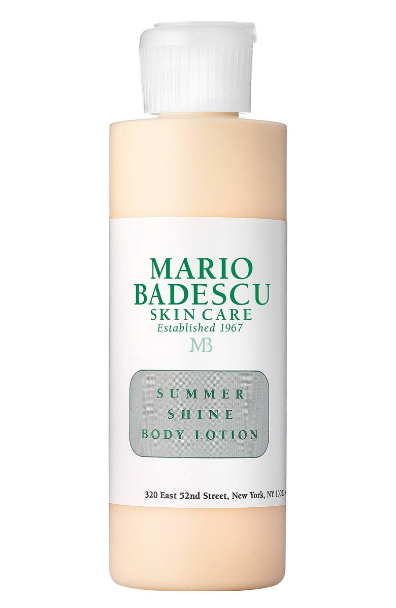 MARIO BADESCU 'Summer Shine' Body Lotion, Main, color, NO COLOR