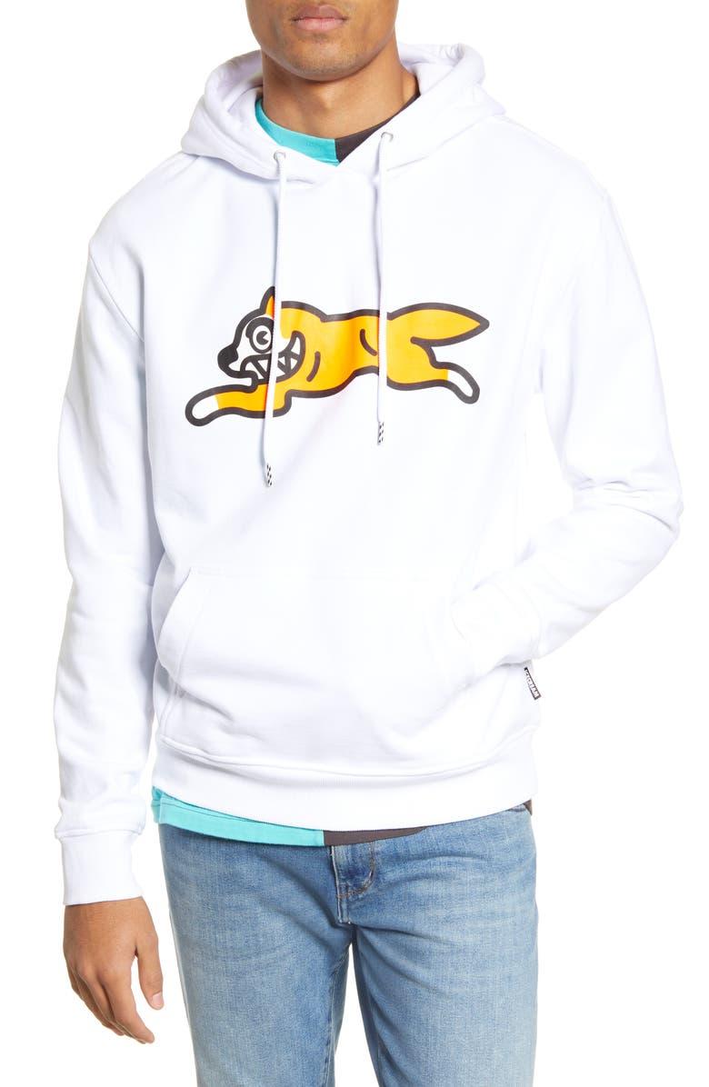 ICECREAM Slope Hooded Sweatshirt, Main, color, WHITE