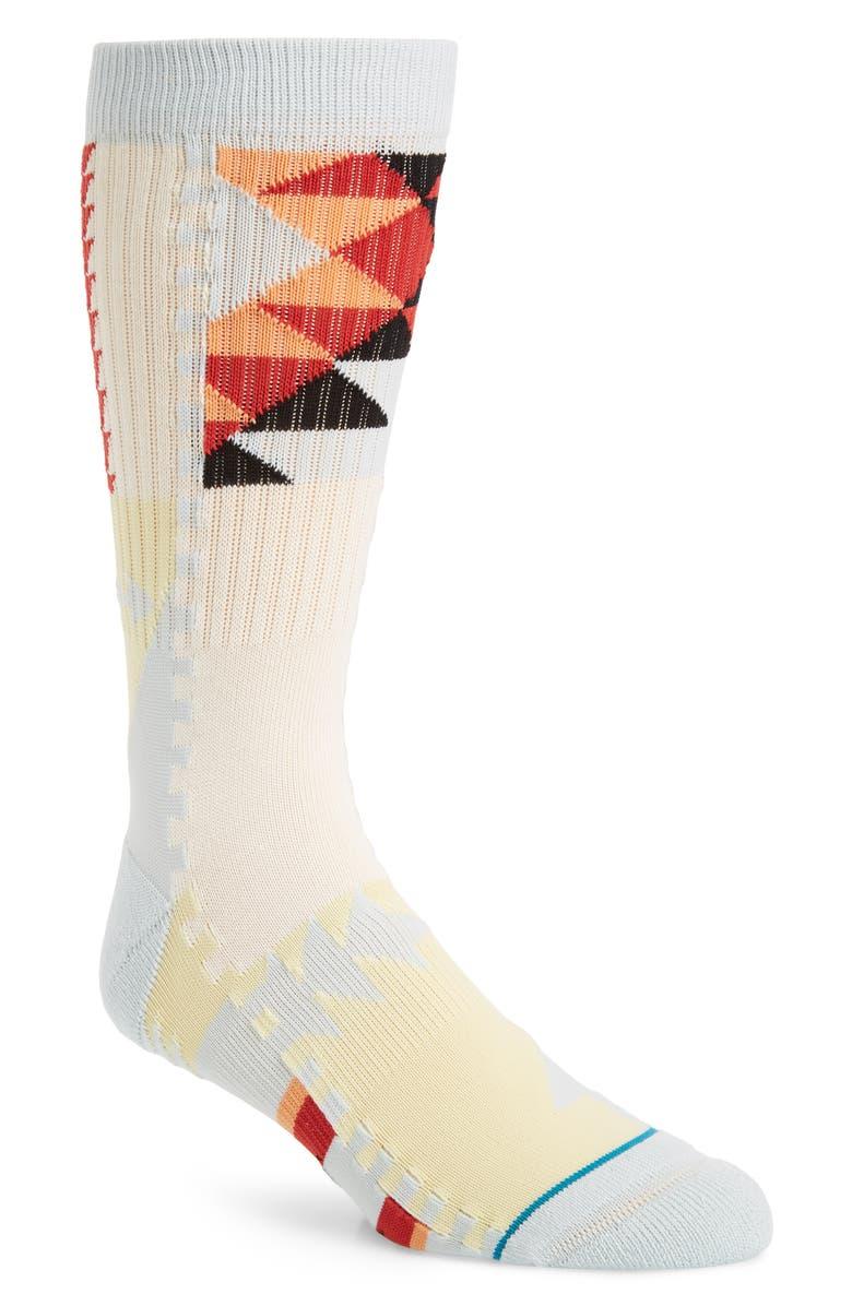 STANCE El Pasa Crew Socks, Main, color, 400