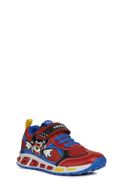 Image of GEOX Shuttle 16 Mickey Mouse Light-UpSneaker