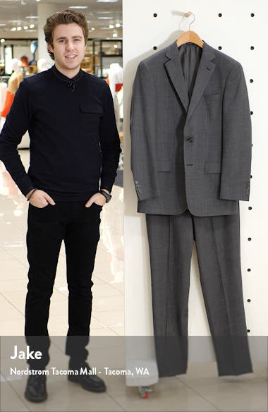 Classic Fit Dot Wool Suit, sales video thumbnail