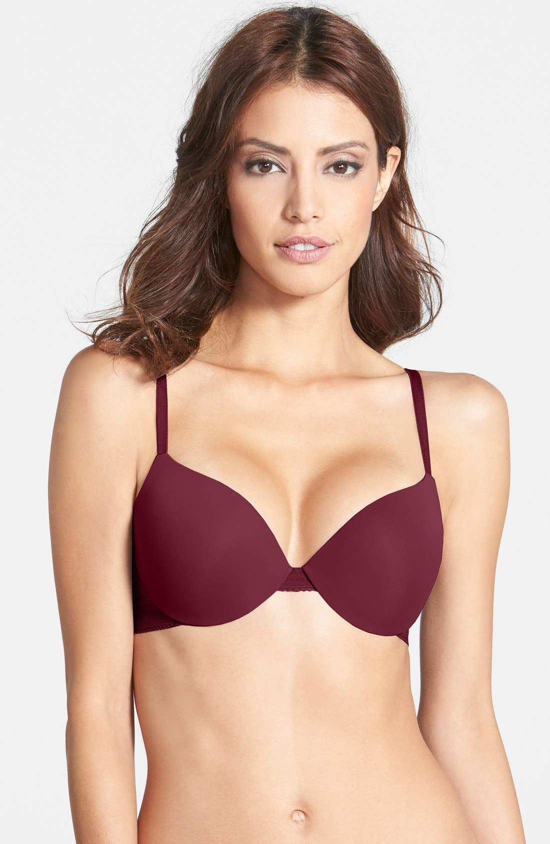 ,                             'Icon' Modern Underwire T-Shirt Bra,                             Main thumbnail 53, color,                             615