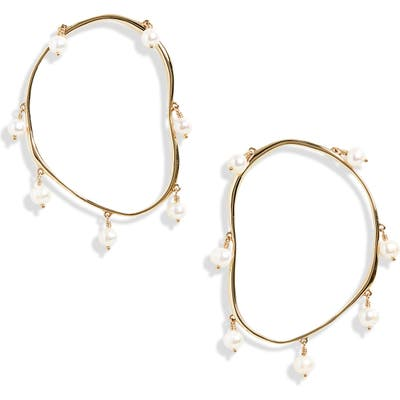 Faris Verre Hoop Earrings