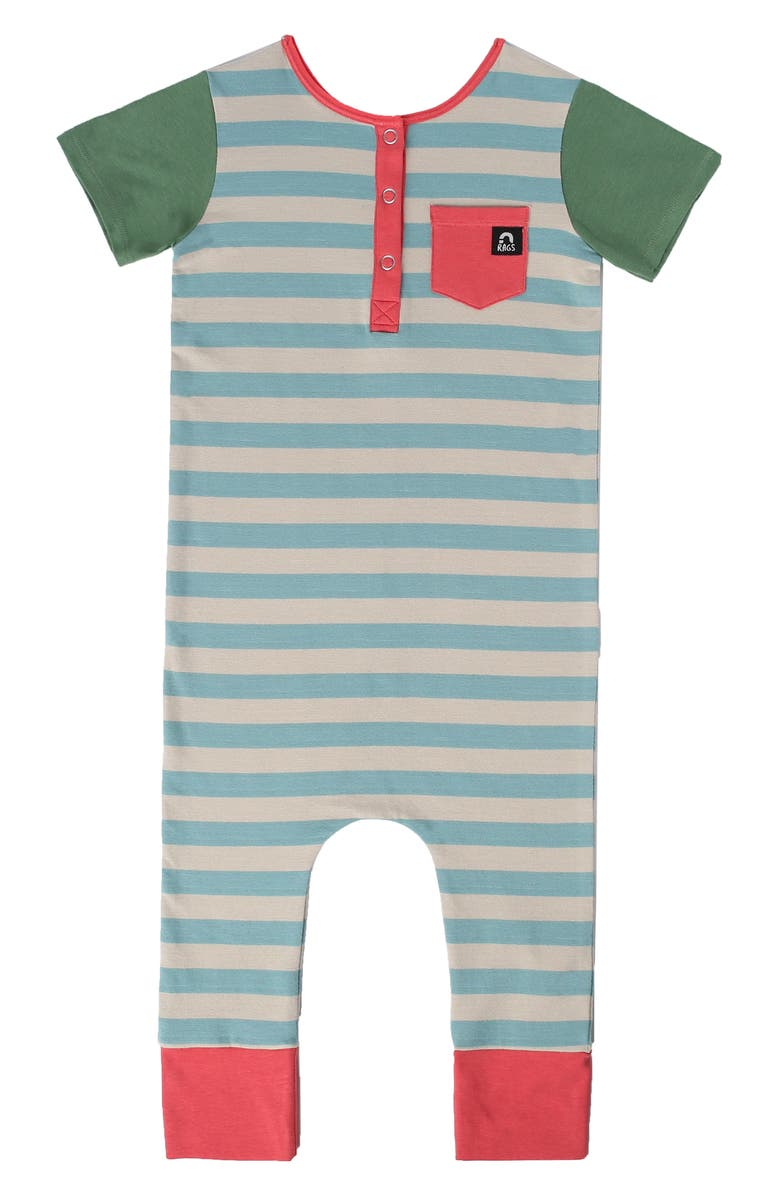 RAGS Oil Henley Romper, Main, color, 400