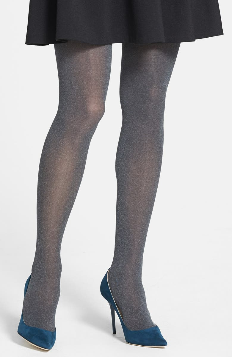 NORDSTROM 'Everyday Heather' Opaque Tights, Main, color, 020