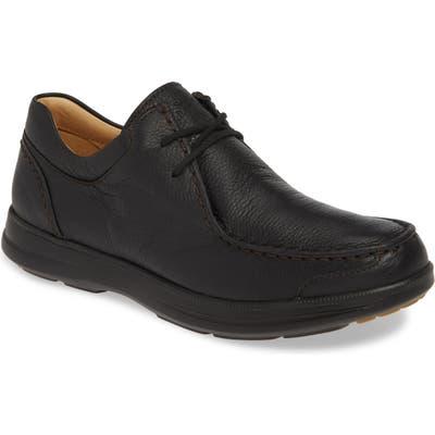Samuel Hubbard Great Strides Moc Toe Chukka Shoe- Black