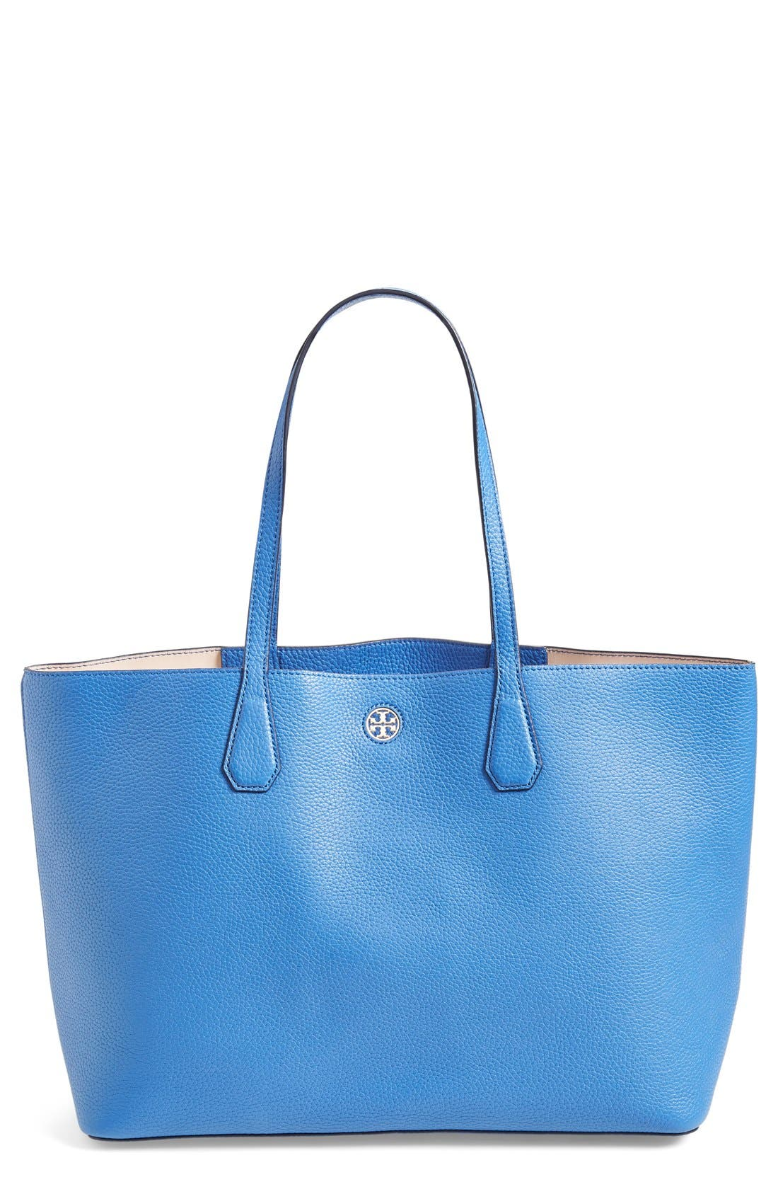 ,                             'Perry' Leather Tote,                             Main thumbnail 21, color,                             402