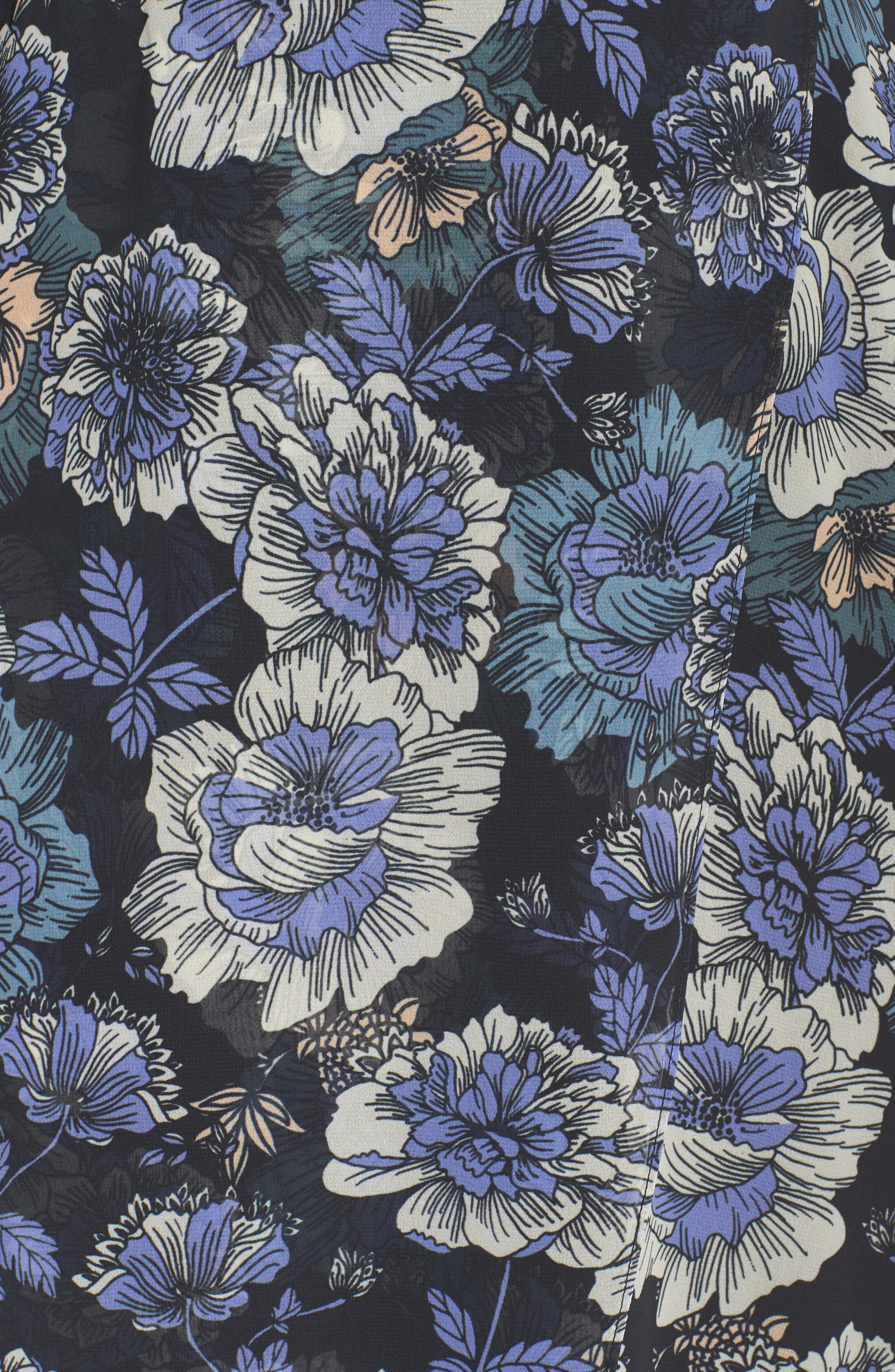 ,                             Floral Fantasy Maxi Dress,                             Alternate thumbnail 6, color,                             PRINT