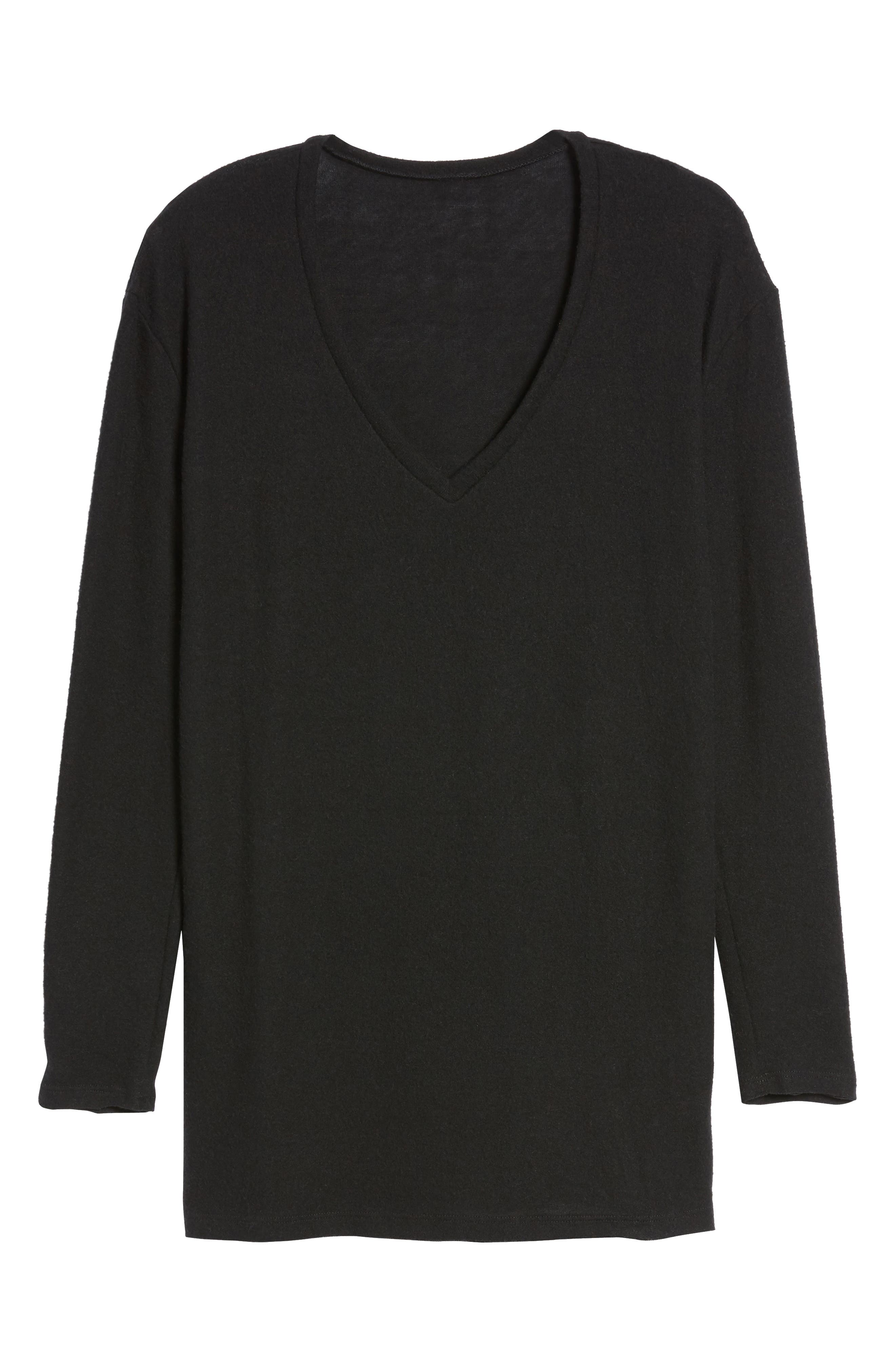 ,                             Cozy V-Neck Sweater,                             Alternate thumbnail 45, color,                             002