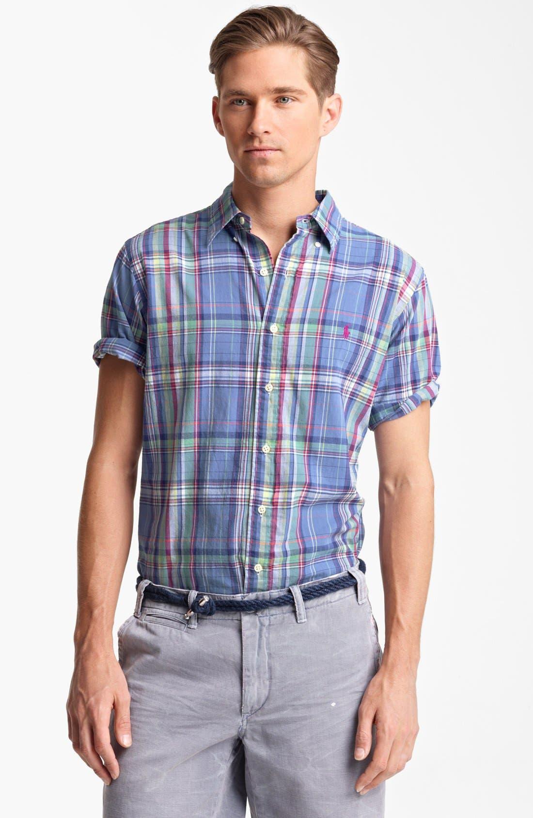 Short Sleeve Sport Shirt, Main, color, 401
