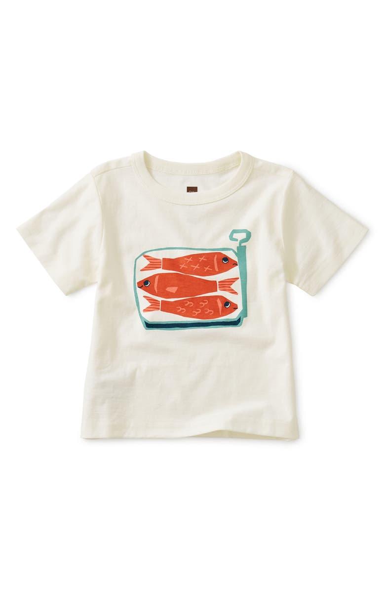 TEA COLLECTION Sardines Graphic T-Shirt, Main, color, 103