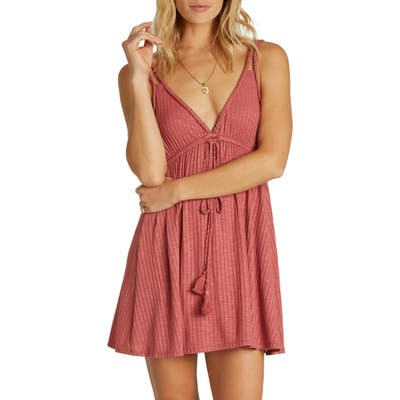 Billabong Braided Sun Cover-Up Dress, Pink