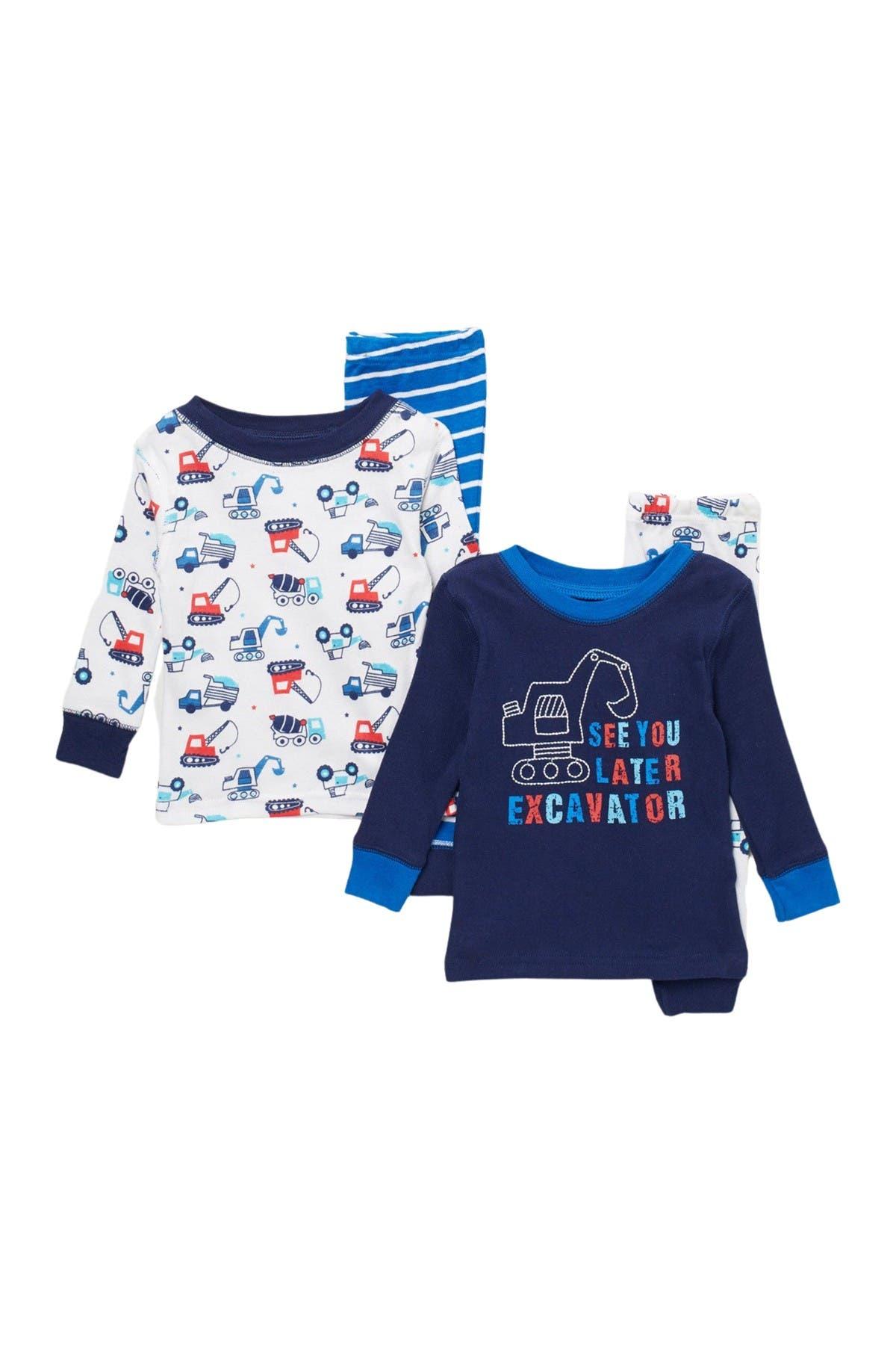 Image of koala baby Printed Pajamas - 4-Piece Set