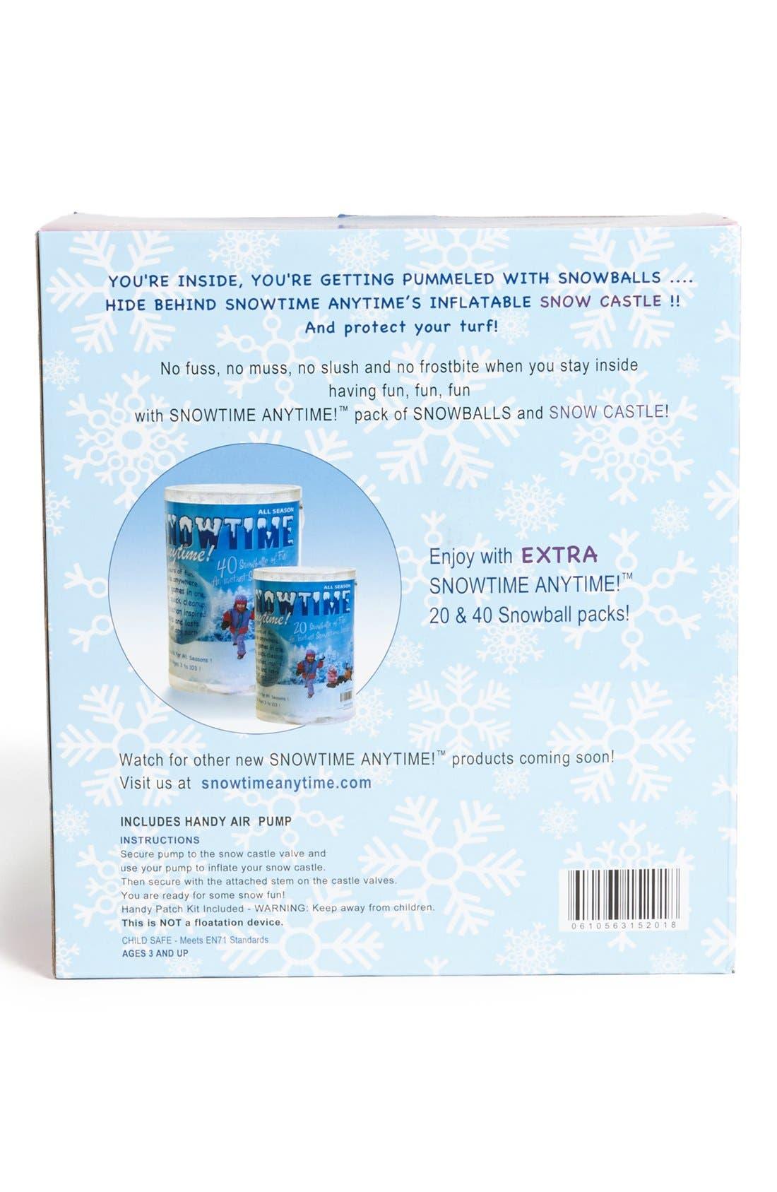 ,                             Inflatable Snow Castle,                             Alternate thumbnail 3, color,                             000