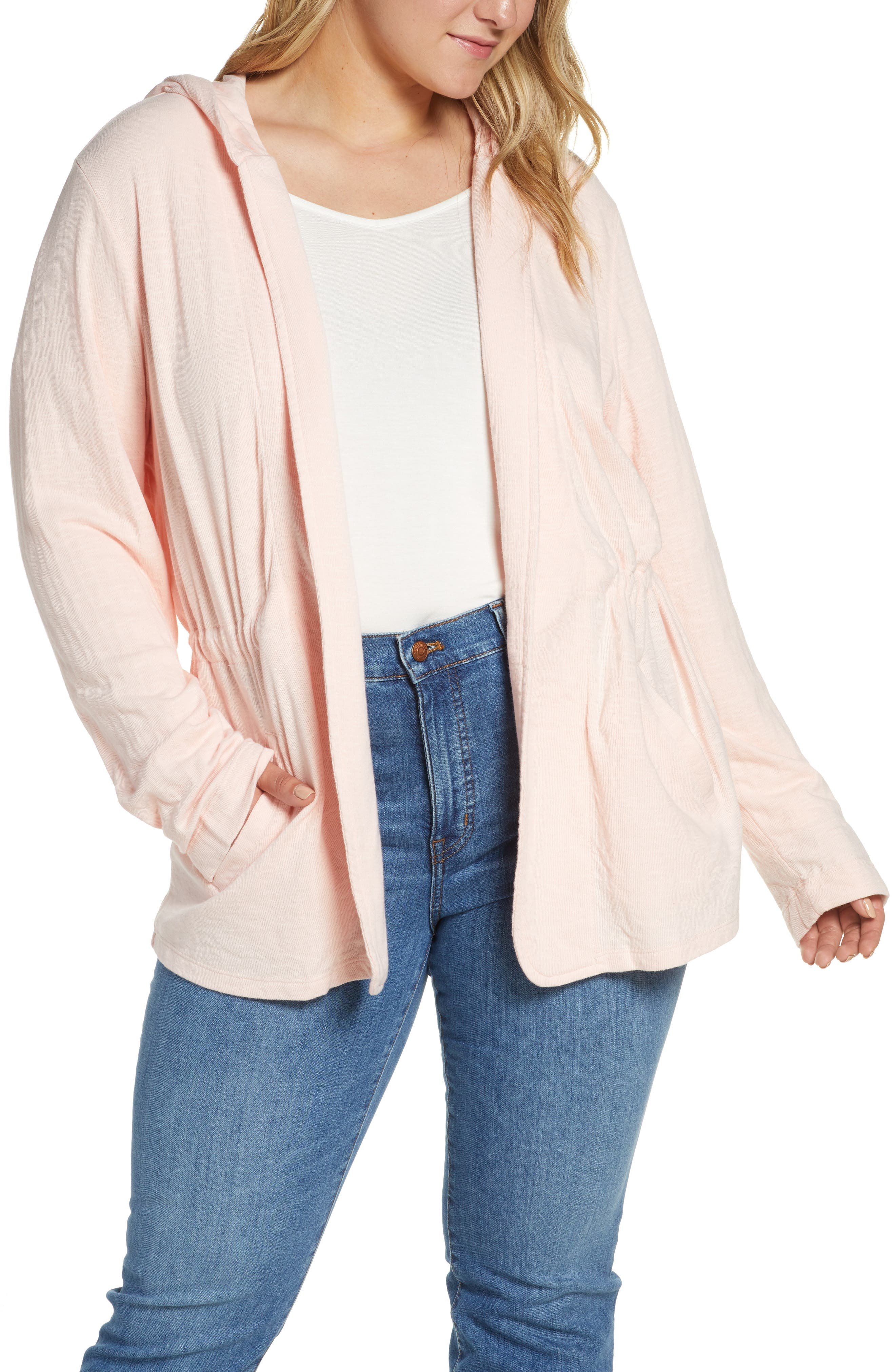 ,                             Open Front Hooded Cardigan,                             Alternate thumbnail 26, color,                             680