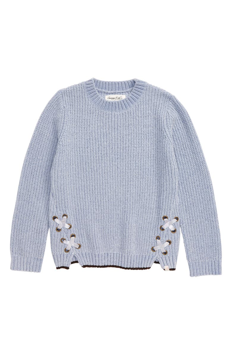SOVEREIGN CODE Dixie Sweater, Main, color, BLUE