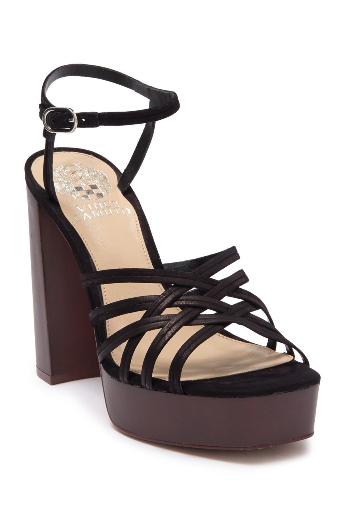 Image of Vince Camuto Larriss Strappy Platform Heel Sandal