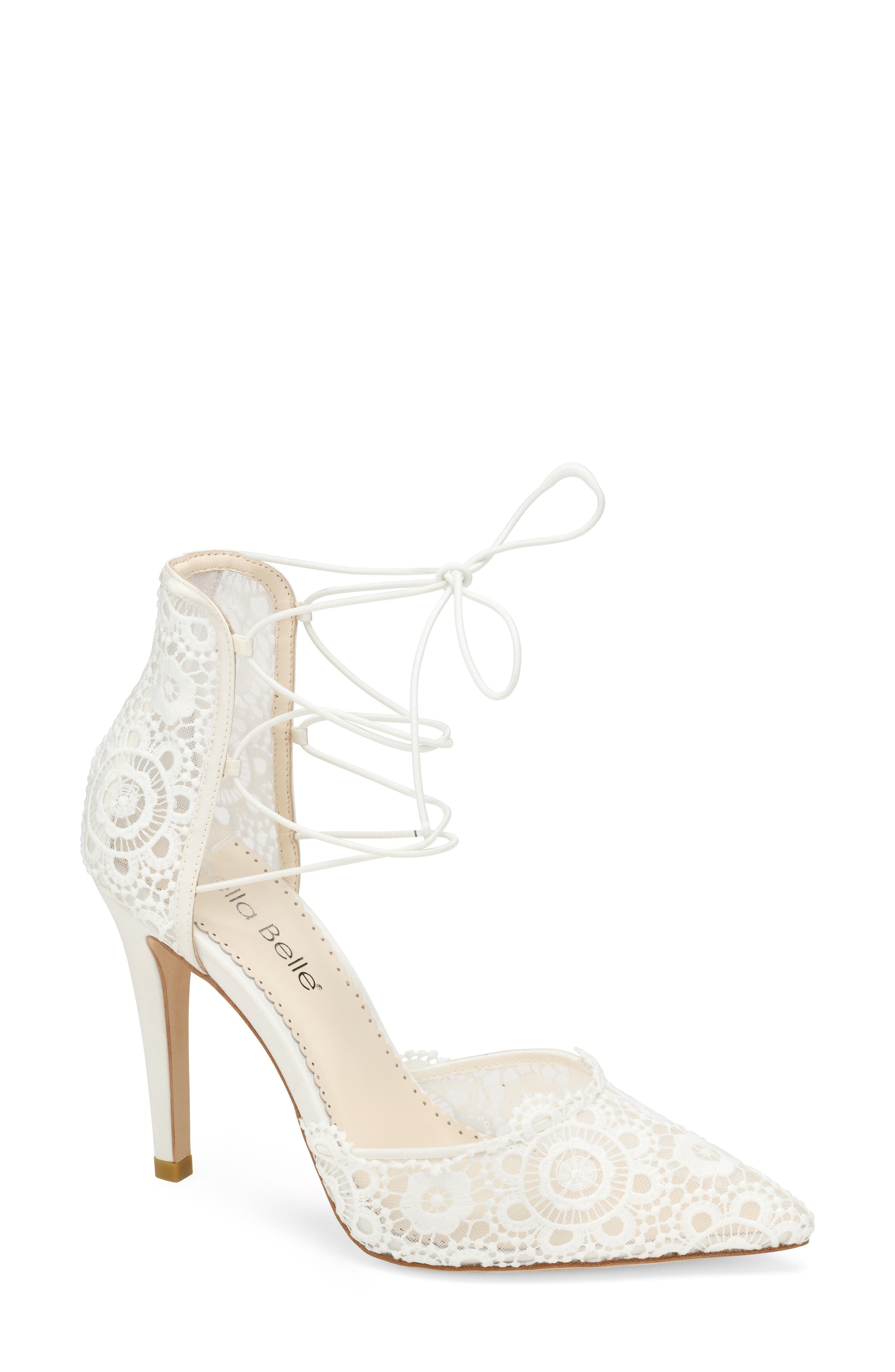 Cameron Pointed Toe Lace Pump