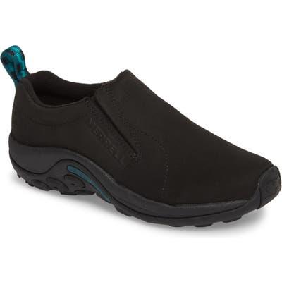 Merrell Jungle Moc Nubuck Sneaker- Black