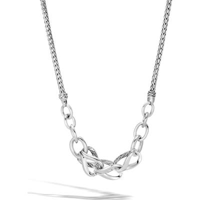 John Hardy Asli Classic Chain Frontal Link Necklace