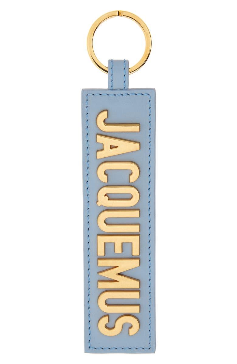 JACQUEMUS Le Porte Leather Key Chain, Main, color, 400