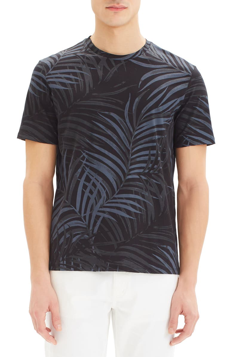 THEORY Clean Saygo T-Shirt, Main, color, ECLIPSE MULTI