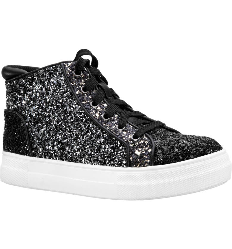 NINA Chessica Glitter High Top Sneaker, Main, color, 006