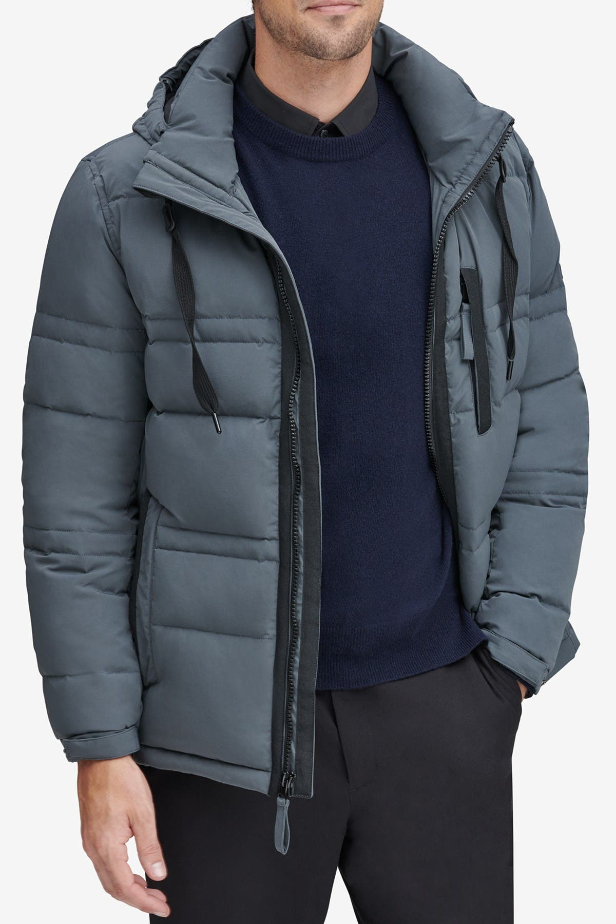 Image of Andrew Marc Huxley Removable Hood Jacket
