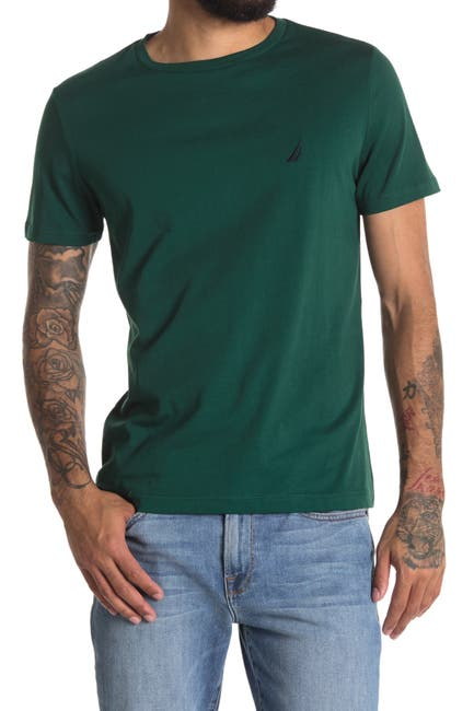Image of Nautica Short Sleeve Crew Neck T-Shirt