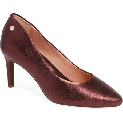 Taryn Rose Tamara Pump- Red
