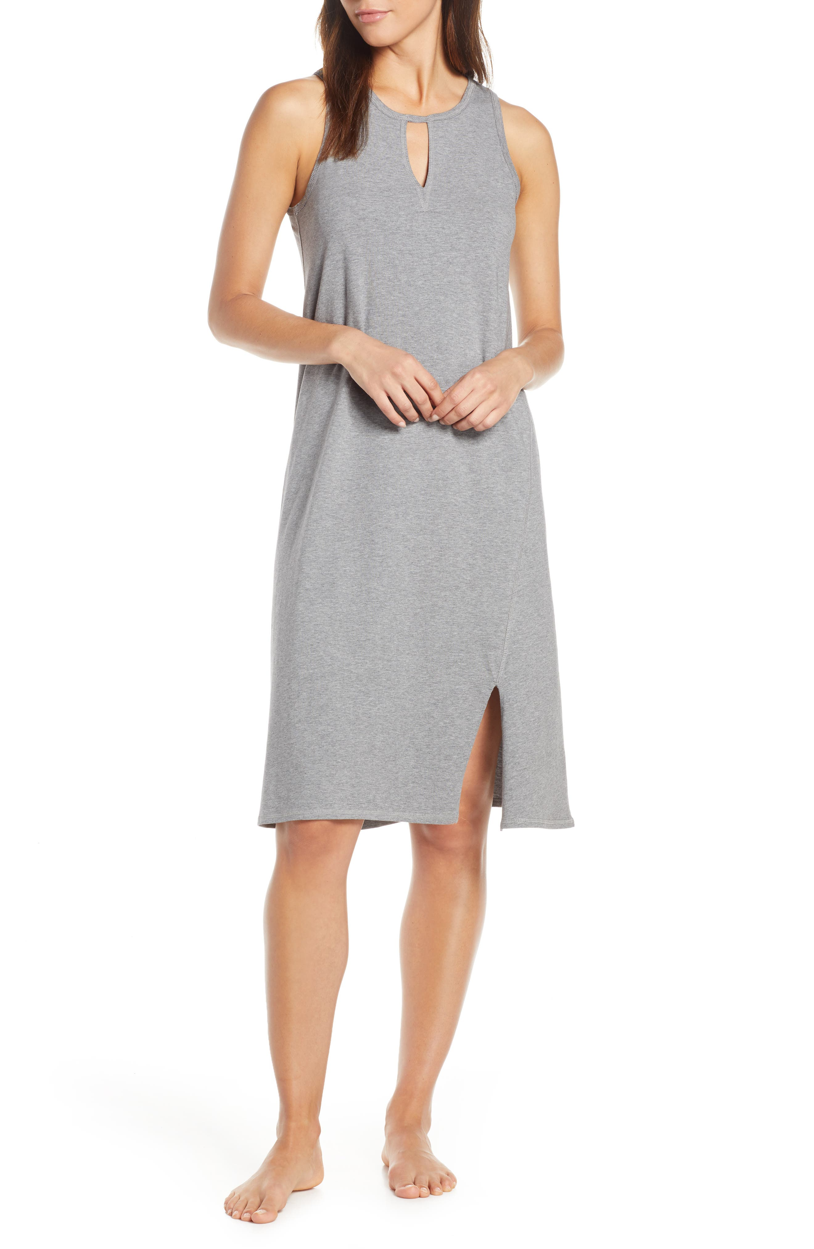 Naked Lucia Nightgown, Grey