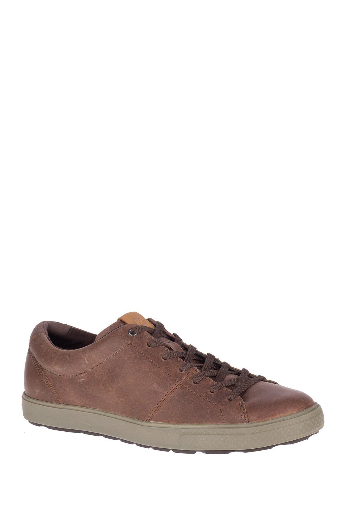 Image of Merrell Barkley Capture Leather Sneaker