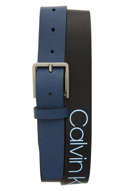 Calvin Klein Belts FAUX LEATHER BELT