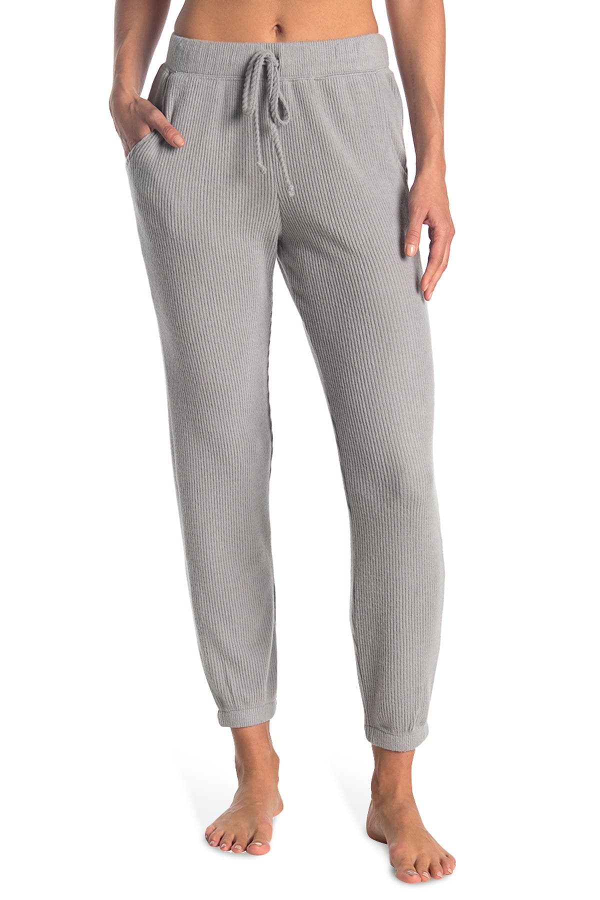 Image of ECLAIR Ribbed Knit Joggers