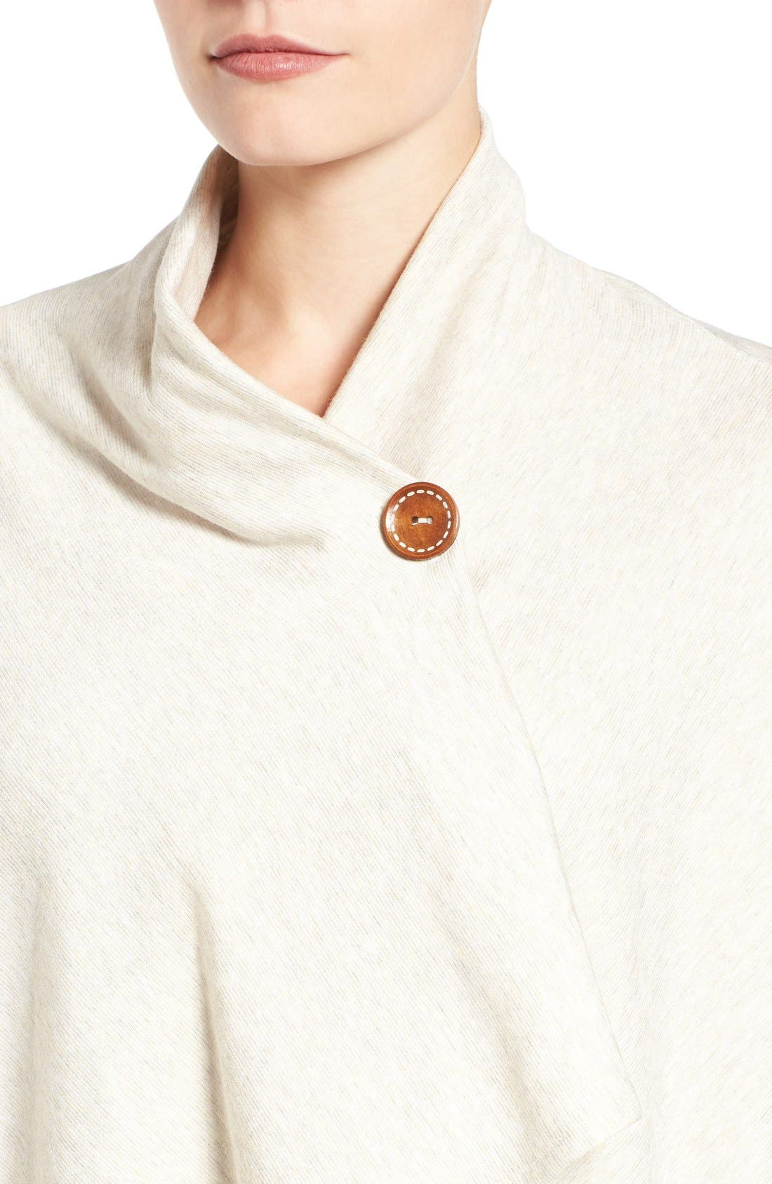 ,                             One-Button Fleece Wrap Cardigan,                             Alternate thumbnail 69, color,                             289