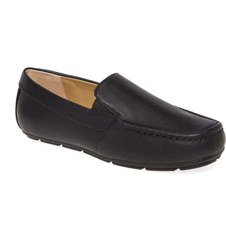 1901 Loafer, Main, color, BLACK FAUX LEATHER