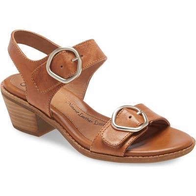 Sofft Sedrina Quarter Strap Sandal, Brown