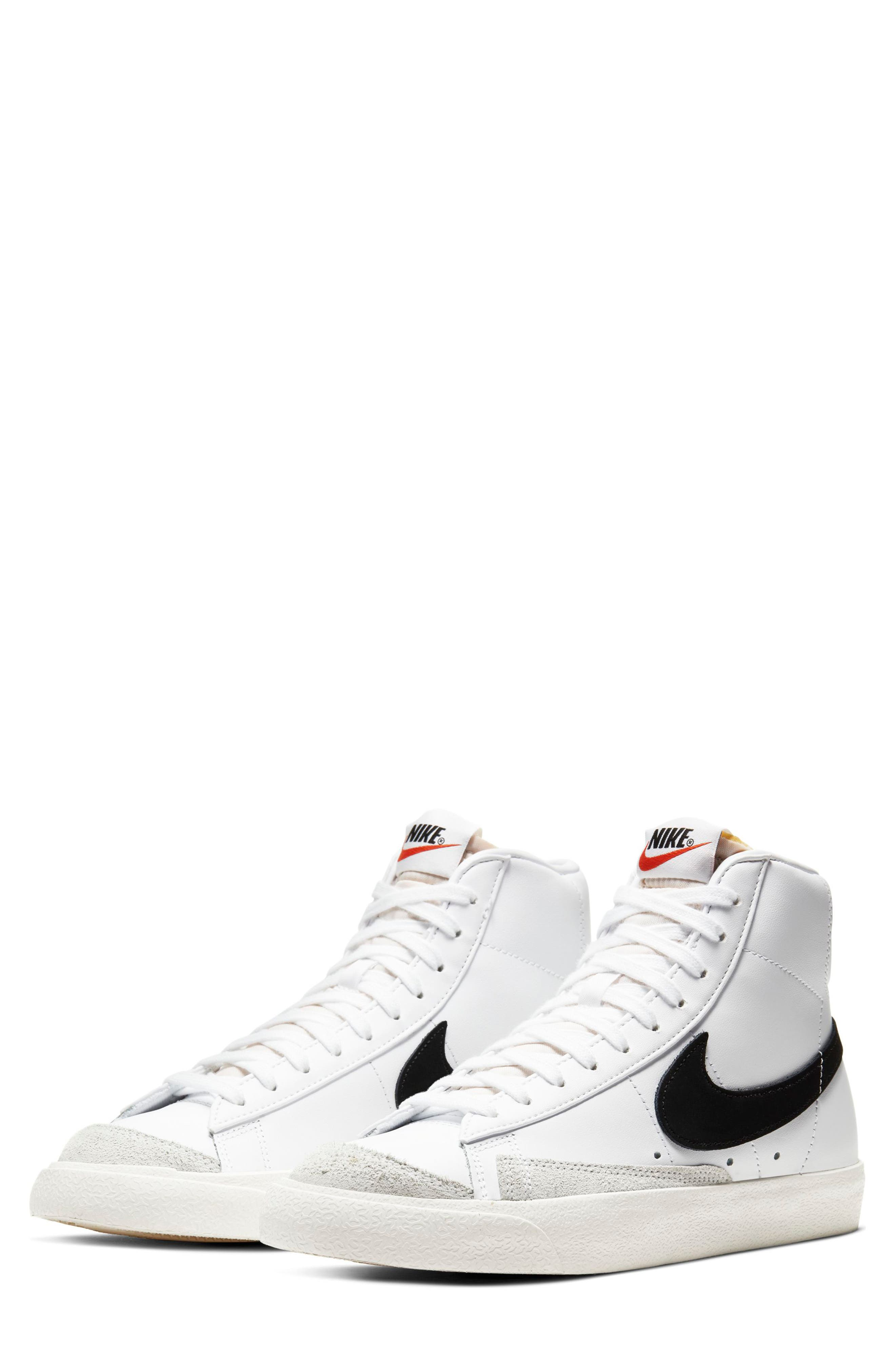nike women's blazer high top sneakers