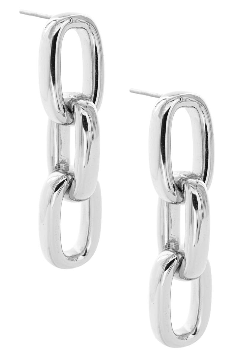 UNCOMMON JAMES BY KRISTIN CAVALLARI Chain Link Earrings, Main, color, 040