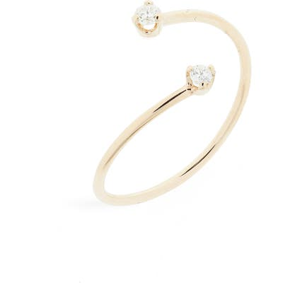 Zoe Chicco Thin Open Bypass Ring