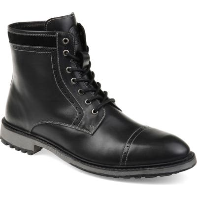Thomas And Vine Briggs Lugged Cap Toe Boot