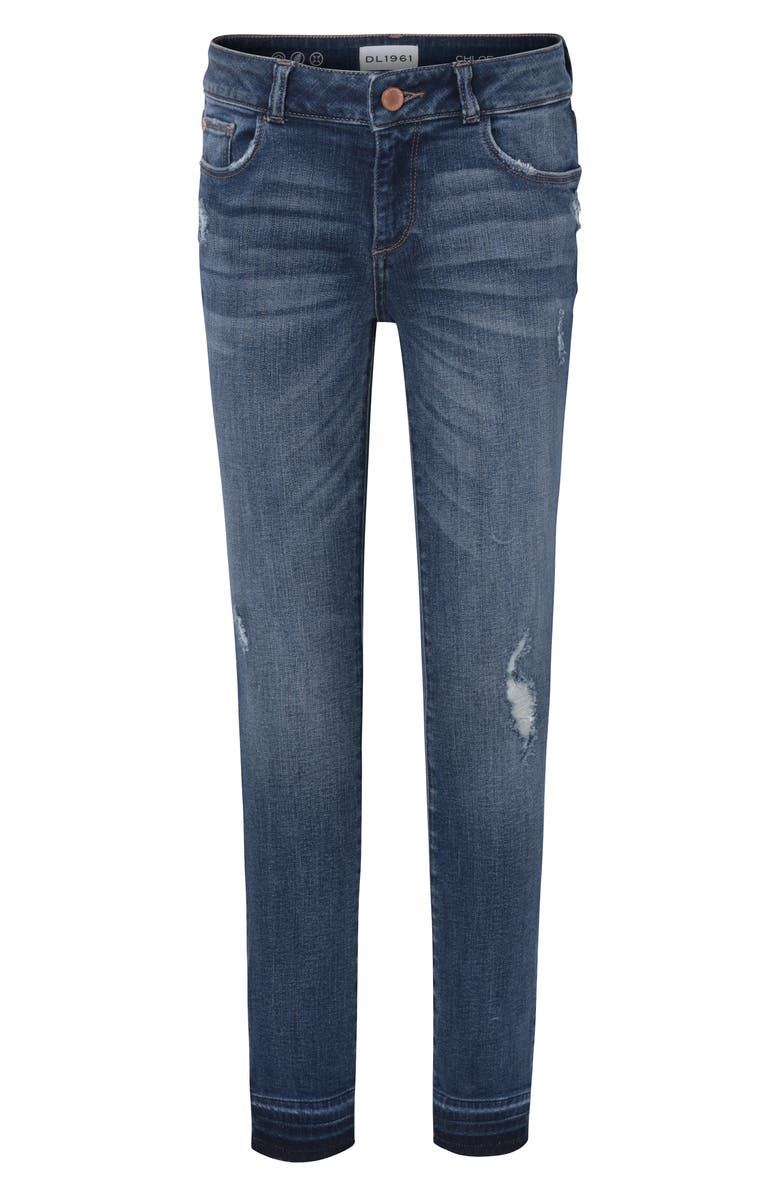 DL1961 Distressed Skinny Jeans, Main, color, PRESTON