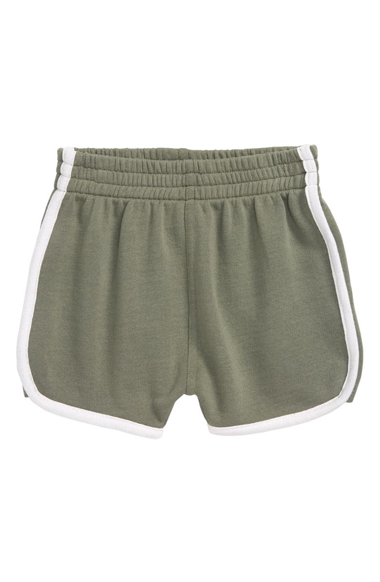 STEM Knit Shorts, Main, color, GREEN AGAVE