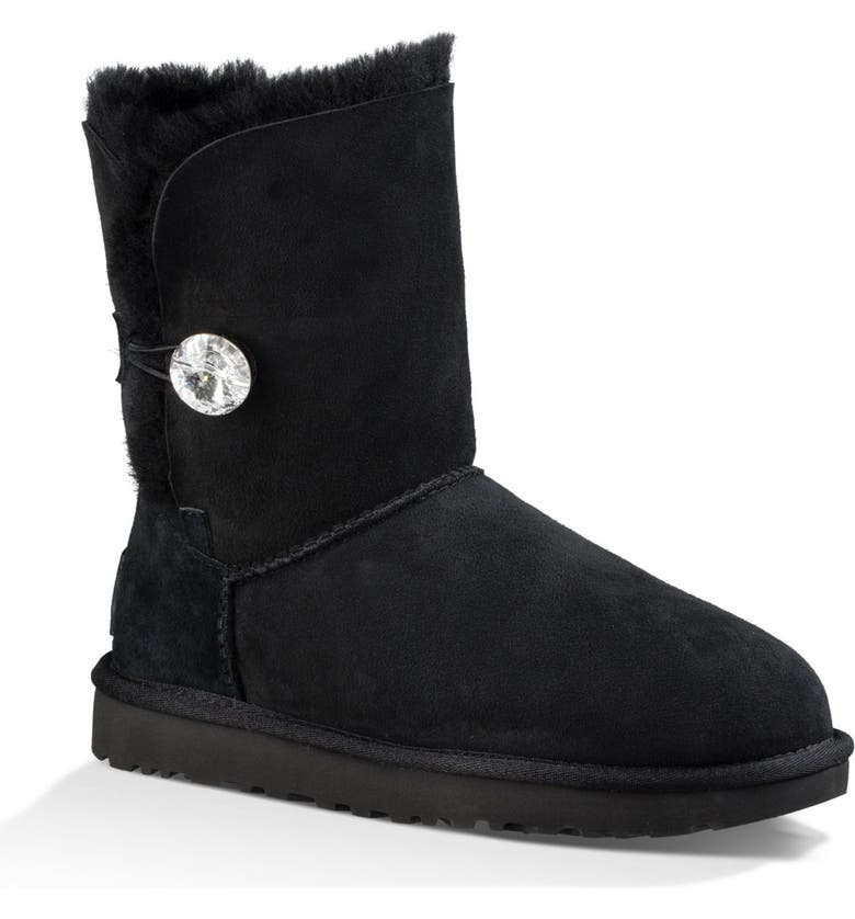 9603a816cdb Bailey Button Bling Genuine Shearling Boot