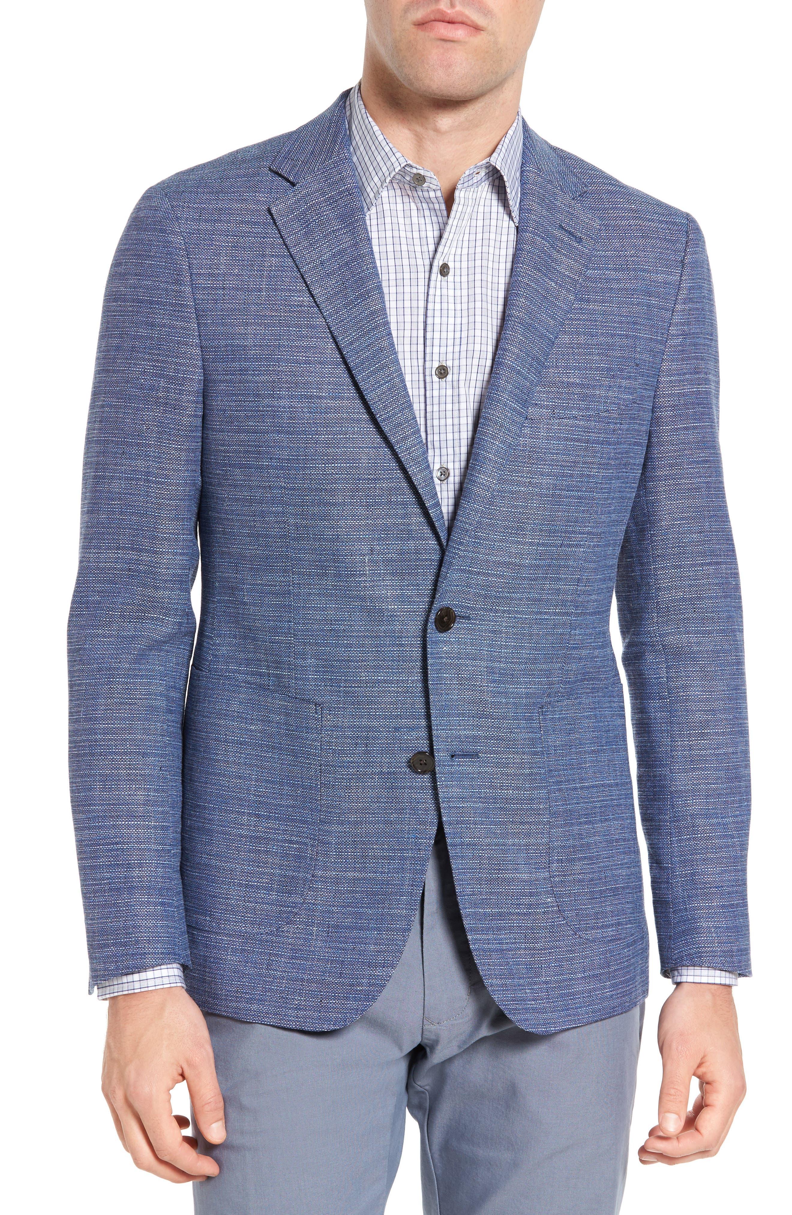 Image of RODD AND GUNN Eastbrook Regular Fit Linen & Wool Sport Coat