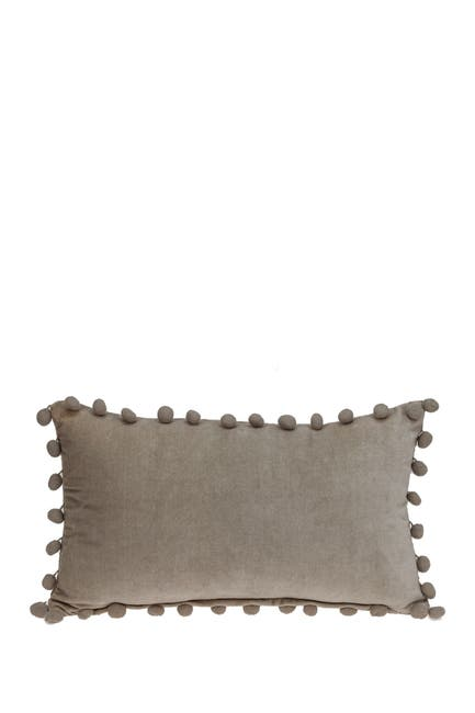 Image of Parkland Collection Freya Transitional Beige Throw Pillow