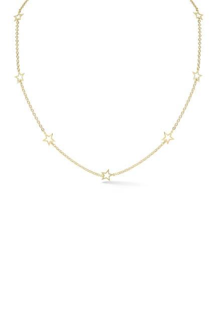 Image of Sphera Milano Gold Vermeil Star Necklace