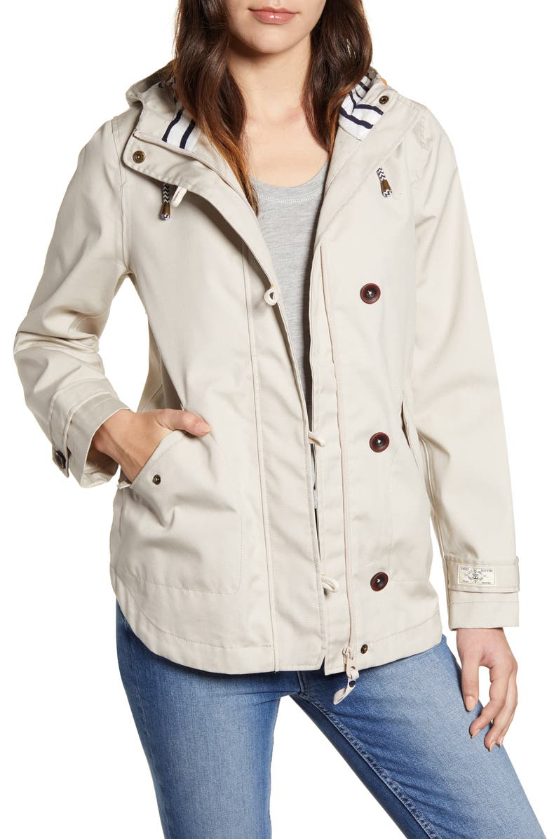 JOULES Right as Rain Waterproof Hooded Jacket, Main, color, 900