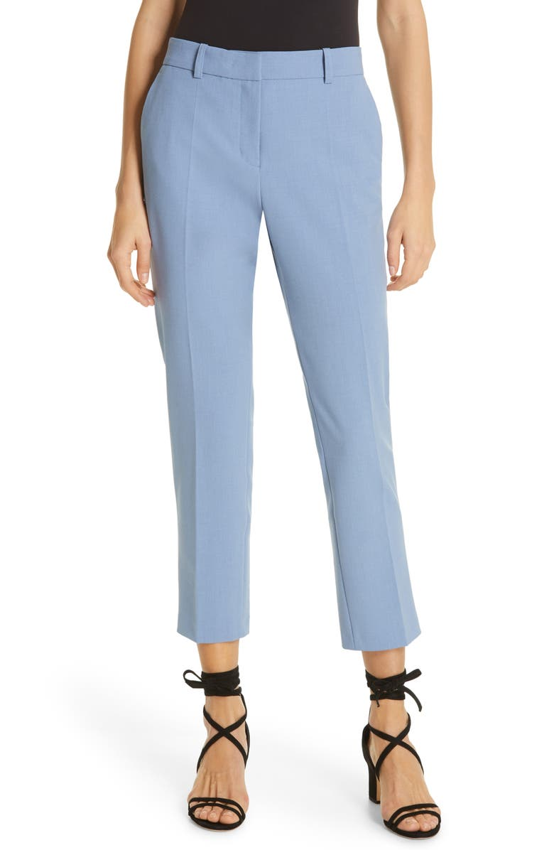 ROBERT RODRIGUEZ Aaron Slim Pants, Main, color, INFINITY BLUE
